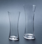 Ridged glass vase SYB012-013