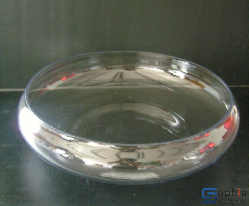 Fish bowl bubble ball glass ball sq105 sophiaglassware for Bubbles in fish bowl